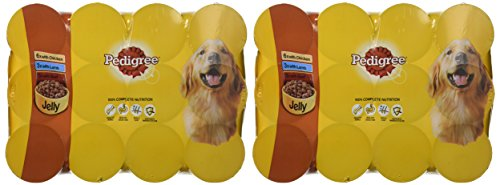 PEDIGREE Dog Food Can Jelly Selection 12 x 385 g (Pack of 2) 2