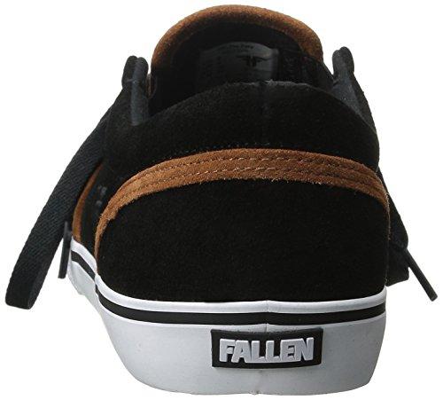 Fallen, Sneaker uomo nero Black/Iron Splatter 11 UK Black/Camel