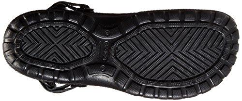 Crocs Yukon Sport Men Herren Clogs Schwarz (Black/Black)
