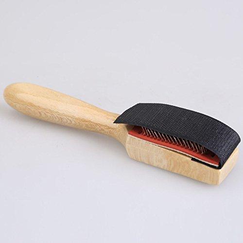 Cepillo de madera con alambre para limpiar zapatos de ante, zapatos de baile y suelas de zapatos, de la marca Xumarket
