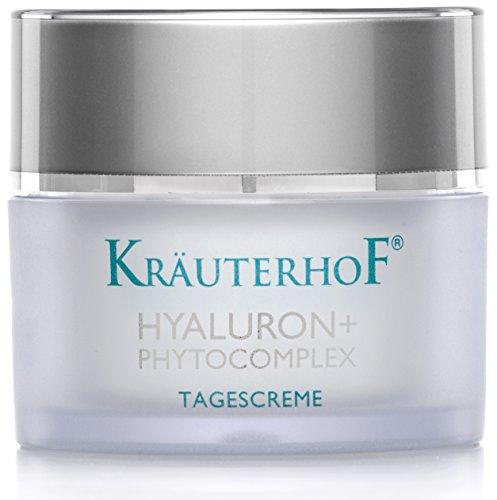 Tagescreme Kräuterhof 50ml Gesichtspflege Frauen Männer Hyaluronsäure Made in Germany Testurteil Gut empfindliche & trockene Haut