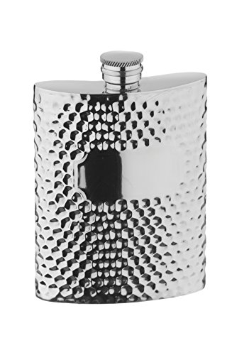arthur-price-of-england-pewter-6oz-hip-flask-hammered-finish