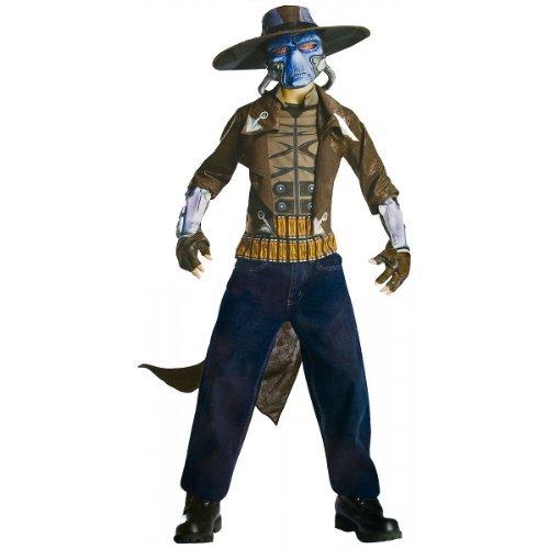 Jungen Deluxe Clone Wars Cad Bane Kostüm - Größe ca 116cm