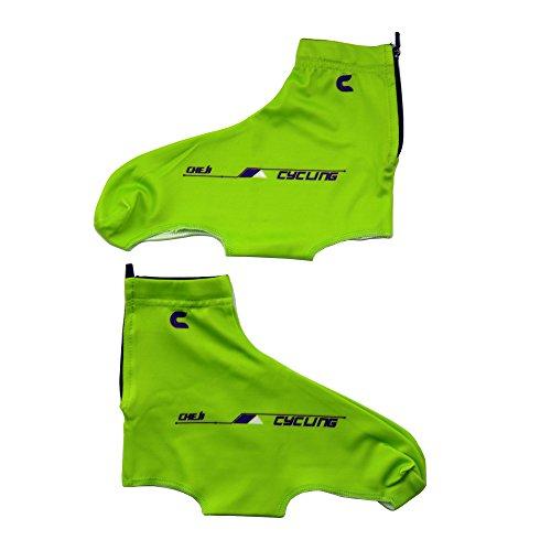 West ciclismo da uomo/donna, anti-polvere, per bicicletta da strada, Mountain Bike, Copriscarpe verde - verde