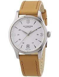 Victorinox Swiss Army Damen-Armbanduhr XS Classic Alliance Analog Quarz Leder 241541