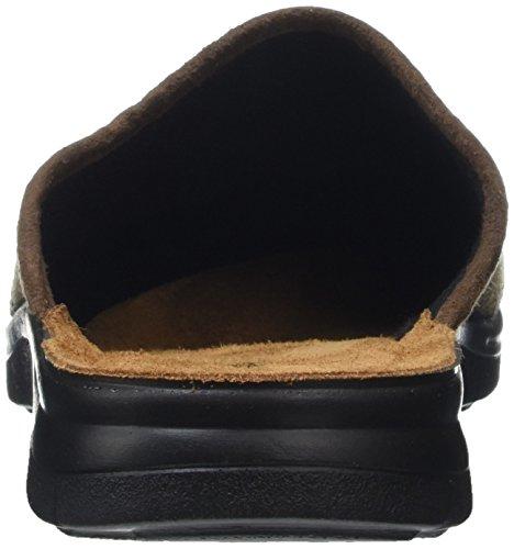 Rohde 4622, Pantofole Uomo Marrone (Mocca)