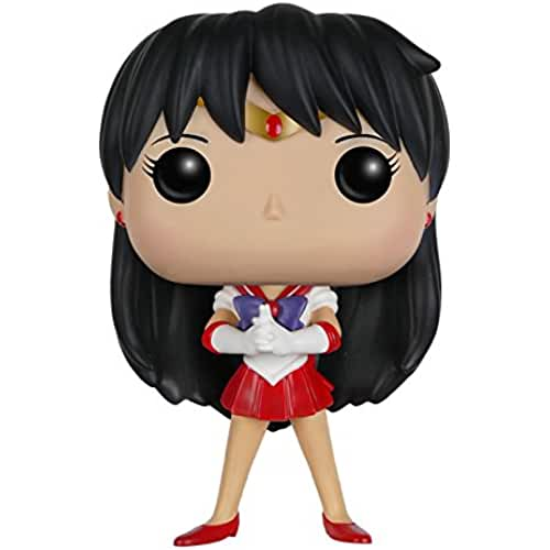 figuras kawaii Funko POP Anime: Sailor Moon - Sailor Mars Action Figure