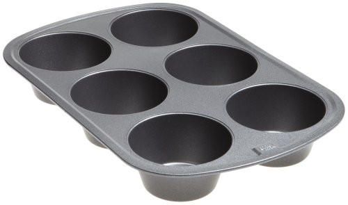 Good Cook 6 Cup Texas Size Muffin Pan by Good Cook (Muffin Texas)