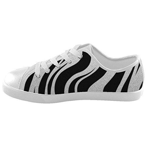 Dalliy zebra stripe Boy's High-top Canvas shoes Schuhe Footwear Sneakers shoes Schuhe C