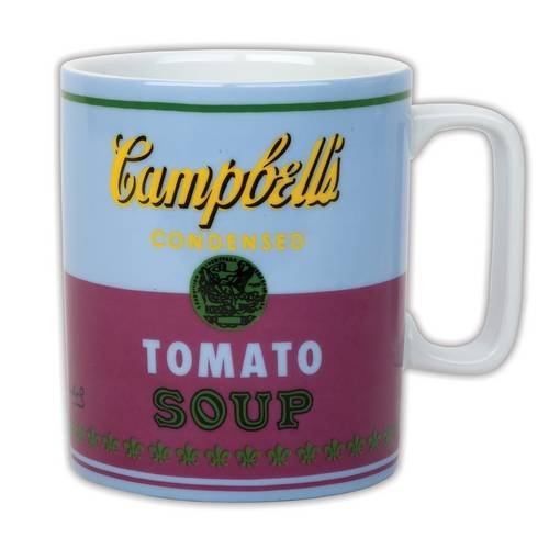 Andy Warhol Campbell's Soup Red Violet Mug