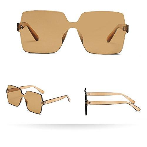LCLrute Herren und Damen Sonnenbrillen Damen Herrenmode Vintage Big Frame Sonnenbrillen Brillen Retro Unisex Verspiegelt UV-Schutz