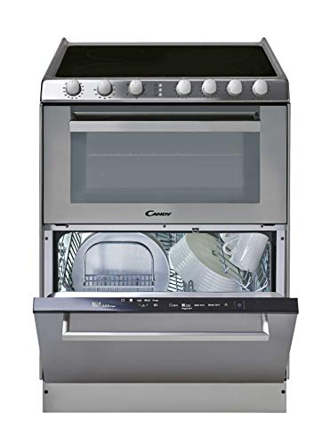 Candy TRIO 9503/1 X/U - Vitrocerámica, lavavajillas y horno en 60cm, independiente, mandos mecánicos...