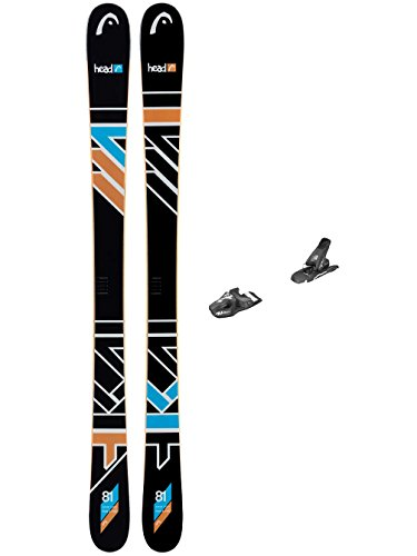 Kinder Freestyle Ski Set Head The Jr. Caddy 161 SW + SX 7.5 90mm 2017 Youth Freeski-Set