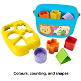 Fisher-Price FFC84 Baby's First Blocks, Baby Shape Sorter Toy, Suitable for 6 Months Plus