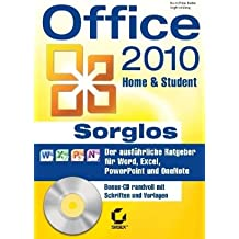 Office 2010 Home & Student Sorglos, w. CD-RM