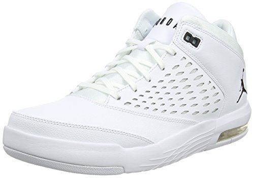 Jordan Herren Flight Origin 4 Fitnessschuhe, Weiß (White/Black 100), 40 EU