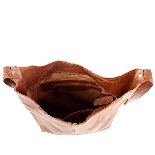 7c247f95431c4 ... LECONI große Umhängetasche Damen Schultertasche praktische Ledertasche  für Frauen Beuteltasche Vintage-Style Damentasche Shopper aus ...
