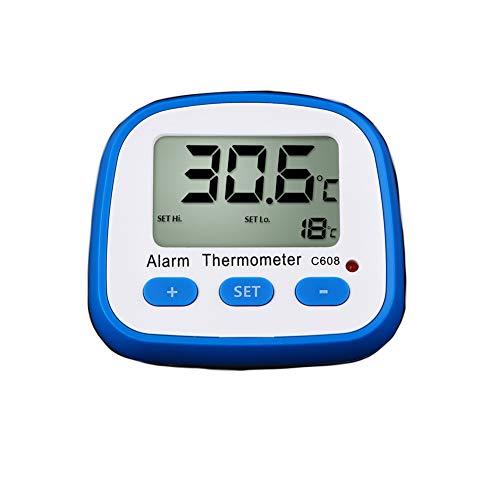 Thermometer Leicht Temperatur Monitor LCD Bildschirm Innen Außen Kühlschrank Gefrierschrank Digital für Daheim Alarm Hygrometer Out Lcd-monitor