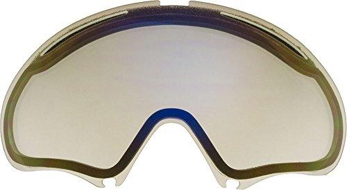 Lentes de repuesto para Oakley A FRAME2.0gafas para la nieve, Clear Mirror