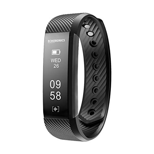 Echo Dash HR Fitness Band & Smart Watch – Fitness Tracker Bands with Heart Rate for Men & Women | Echoronics by MEVO