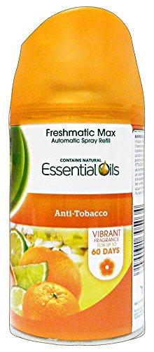 '6x Air Wick Freshmatic Max Refill/'anti Tabac/Después de pluma para ambientador Air Wick Freshmatic Max//Aire Ambientador/250ml