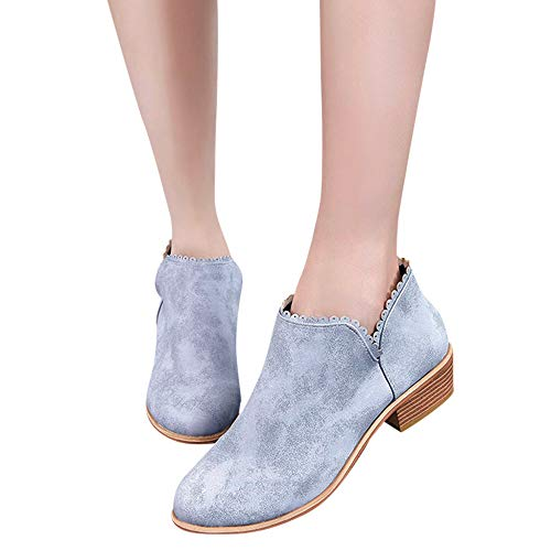 Stiefel Damen Boots Mode Stiefeletten Runde Kappe Stiefel Klassische Stiefel Frauen Freizeitschuhe Herbst Winter Stiefeletten Elegent Boot ABsoar
