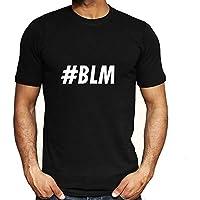 Negro Vive la Materia-I No Puedo Respirar Hombres Mujer Libertad Civil Derechos Tops Camiseta Corto Manga Blusas 5-Styles / A4 / 2XL