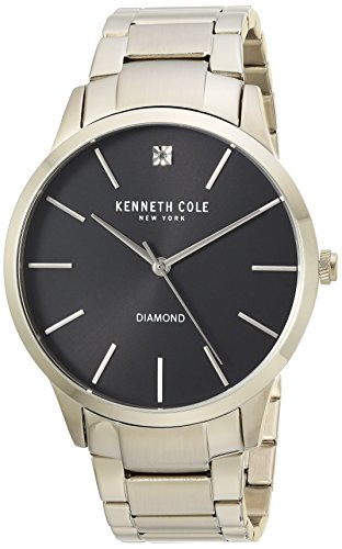 Kenneth Cole New York da uomo orologio da polso analogico al quarzo acciaio inossidabile kc15111014