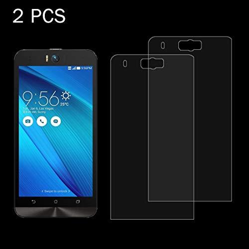 YIHUI Explosionsgeschütztes Glas Flim 2 STÜCKE für Asus Zenfone Selfie / ZD551KL 0.26mm 9H Oberflächenhärte 2.5D Explosionsgeschützte gehärtete Glasscheibe Displayschutz