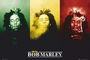 1art1 41131 Bob Marley - Fahne Poster 91 x 61 cm
