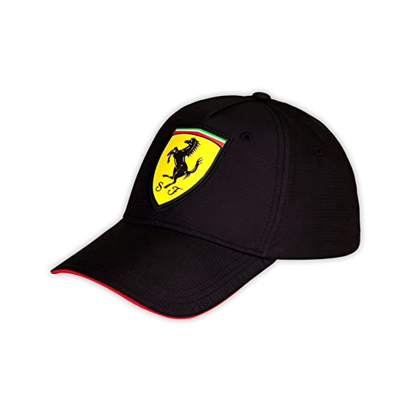 Gorra negra carbono oficial Scuderia Ferrari F1 8603b761c1e