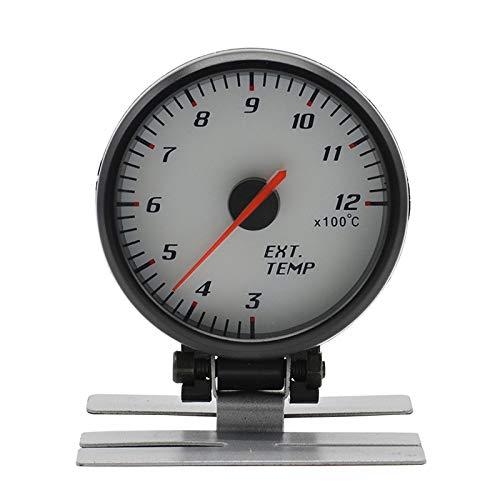 AM-GPS Speedometer Ligera Medidor de Temperatura del Gas de Escape del Coche de 60MM 12V...
