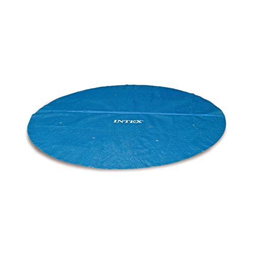Intex Solarfolie für Quick-up- (Easy Set) und Metallrahmen-Pools, blau, Ø 457 cm - Cross-pool