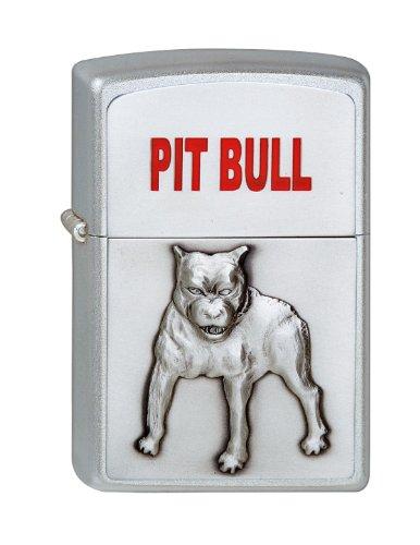 Zippo 1320048 Feuerzeug 205 Pit Bull Emblem