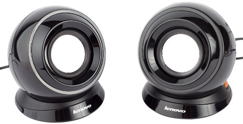 Lenovo M0520 Multimedia Speakers (Black)