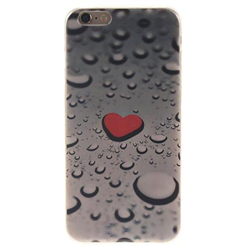 "Coque iPhone 6s, MOONCASE iPhone 6 Slim Coque Housse Etui Silicone Parfait Soft TPU Back Case Cover pour iPhone 6 (2014) / 6s (2015) 4.7"" - TX01 Fleurs Series - TX04"