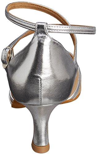 Diamant 035-077-013 Damen Tanzschuhe – Standard & Latein, Silber (Silber), 39.5 EU - 2