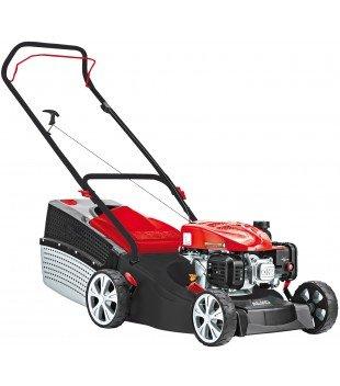 AL-KO Benzin-Rasenmäher Classic 4.66 P-A edition, 46 cm Schnittbreite, 2.0 kW Motorleistung, stabiles Stahlblechgehäuse, für Rasenflächen bis 1100 m², inkl. 65 L Fangbox