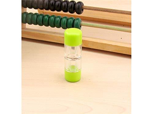 FOOBRTOPOO Kontaktlinsenetuis Sets für Harte Linsen/RGP-Linsen Bulk (Weiß) (Farbe : Green) - Rgp-linsen