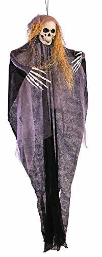 Forum Novelties X81332 - Figura decorativa, diseño de calavera, multicolor