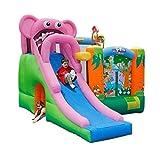 Bouncy Castles Aufblasbare Burg Basketball Rutschen, für Zuhause, für Kinder im Freien,...