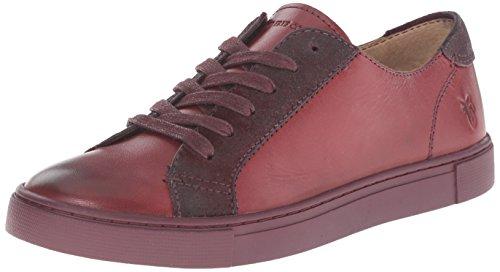 frye-gemma-low-lace-donna-us-8-rosso-scarpe-ginnastica