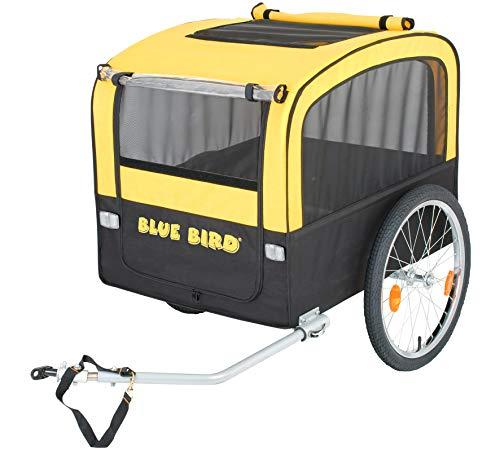 Blue Bird Hundeanhänger Fahrrad-Anhänger für Hunde -