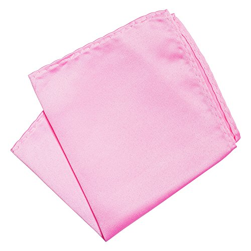 Korntex Einstecktuch 23 Farben Taschentuch matt leicht glänzend Kavalierstuch (hell pink)