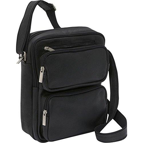 le-donne-leather-multi-pocket-ipad-ereader-day-bag-black