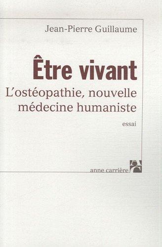 ETRE VIVANT L OSTEOPATHIE NLE