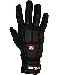 FKG-03 gants de football américain de haut niveau pour linebacker, noir