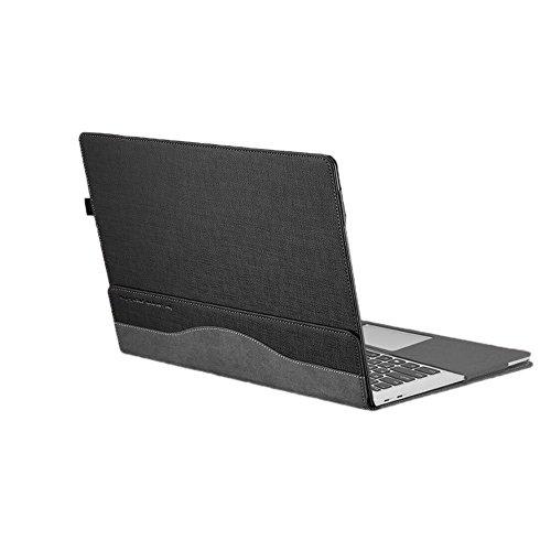 "Preisvergleich Produktbild Coface Schutz Laptop Tasche PU Leder für Lenovo Yoga 910 13.9 ""Kaffee grau"