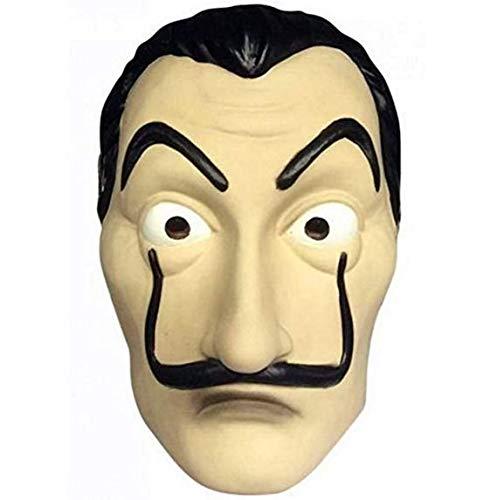 Kostüm Realistisch - ITAUK Halloween Maske Realistische Neuheit Kostüm Party Maske Latex Gesichtsmaske