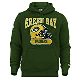 New Era Herren Kapuzenpullover NFL Archie Hoody Green Bay Packers - Dk Green XL